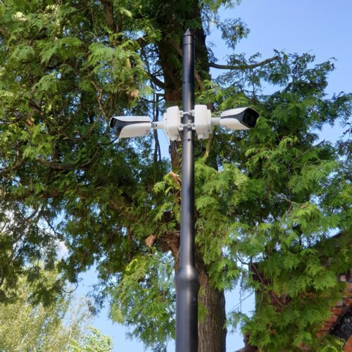 Monitoring wizyjny cmentarz