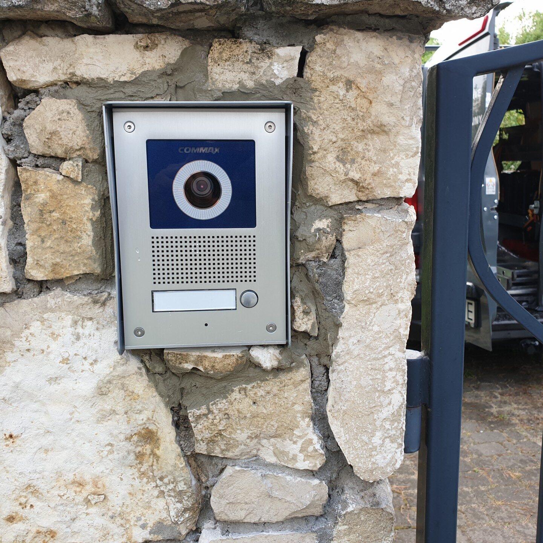 Realizacja FPI - Montaż wideodomofonu Commax
