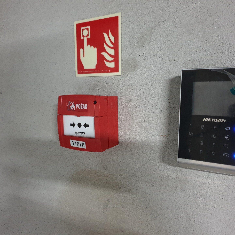 Realizacja FPI - System sygnalizacji pożaru Schrack-Seconet