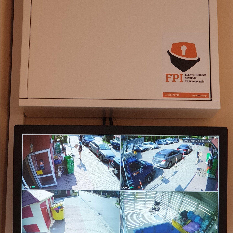 Realizacje FPI - Montaż monitoringu wizyjnego dla wspólnoty mieszkaniowej