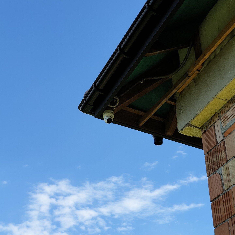 Realizacje FPI - Montaż systemu monitoringu w niewykończonym budynku