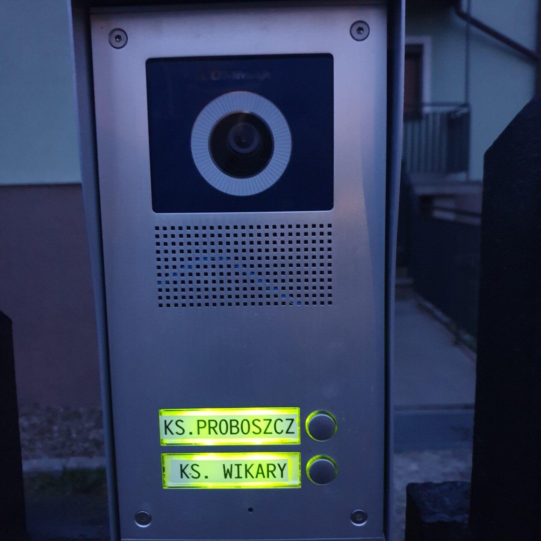 Realizacje FPI - Montaż wideodomofonu