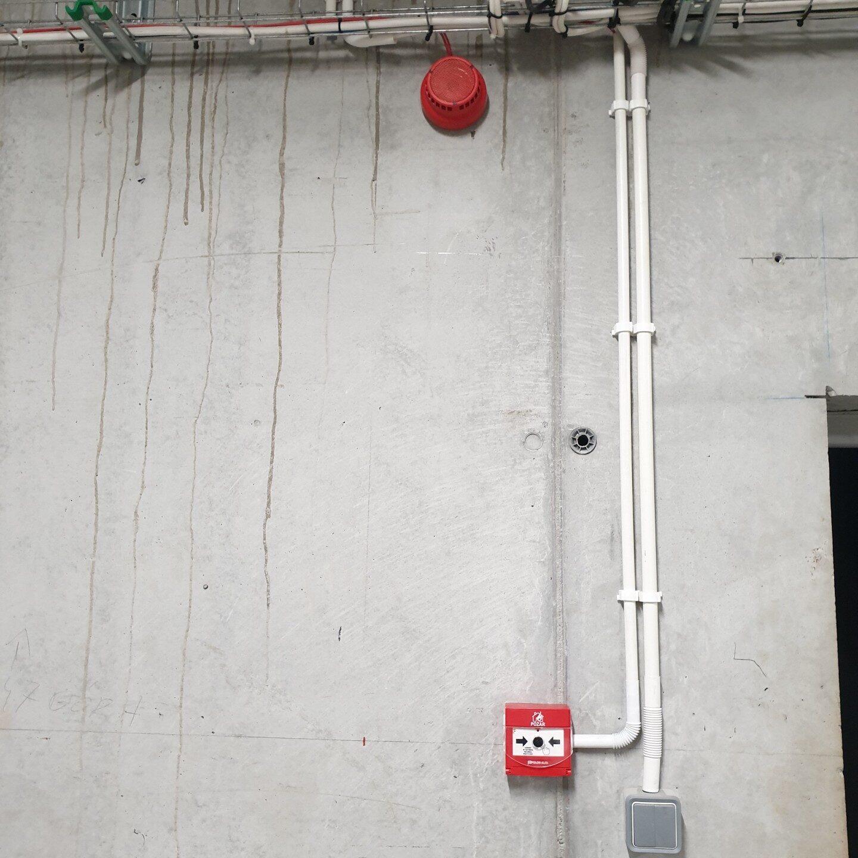 Realizacje FPI - Rozbudowa systemu sygnalizacji pożaru Polon 4000