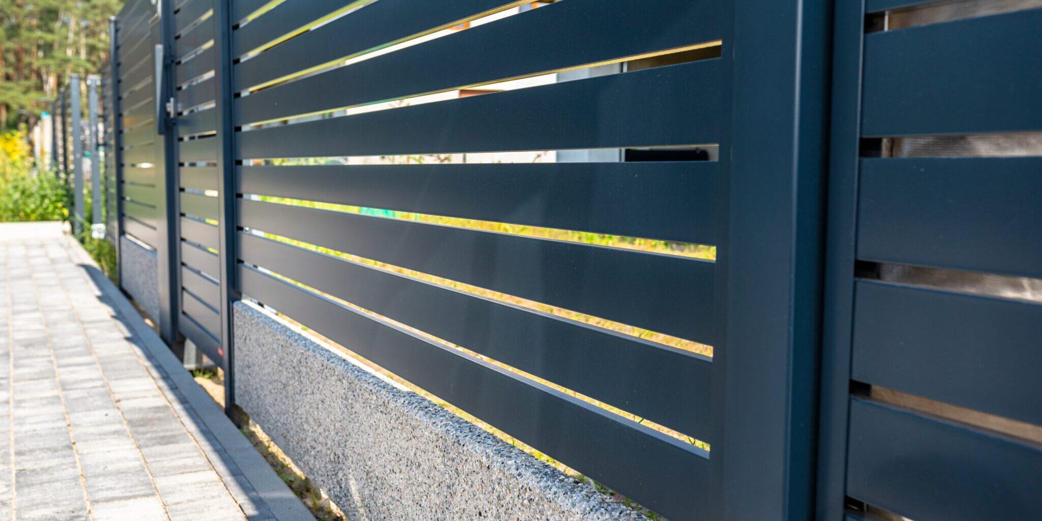 brama wjazdowa sterowana napędem